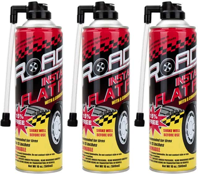 Image shows the tire puncture sealant product.